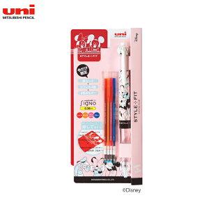 三菱鉛筆 uni スタイルフィット ディズニーシリーズ 4色ホルダー スターターキット UE4H677DS38.F AFフレンズ