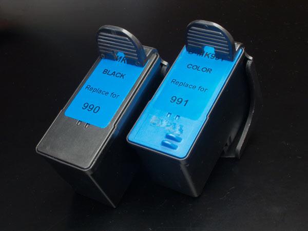 デル(DELL) MK990 MK991 リサイクルインク 926 V305 V305W【メール便不可】【送料無料】 ブラック&カラー【あす楽対応】