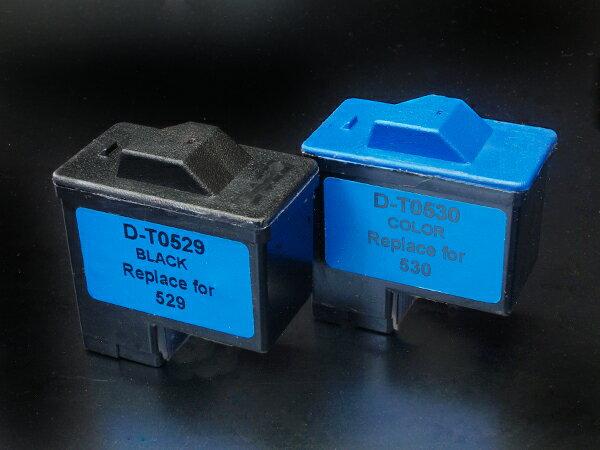 デル(DELL) T0529 T0530 リサイクルインク デル カラープリンタ 720【メール便不可】【送料無料】 ブラック&カラー【あす楽対応】