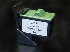 10N0016 レックスマーク用 #16 リサイクルインク ブラック