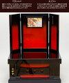 五月人形鎧飾り「一龍作上杉鎧収納タイプのお飾り2018年作新作」●上杉収納飾り