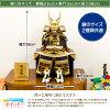 五月人形オシャレインテリア鎧兜「EVOLVE希翔オシャレ鎧飾り選べる2種類」平飾り横幅28cm×奥行19cm×高さ29cm2018年初節句子供の日
