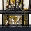 五月人形オシャレインテリア鎧兜「EVOLVE希翔オシャレガラスケース兜飾り選べる2種類」平飾り横幅23cm×奥行24cm×高さ38cm2018年初節句子供の日