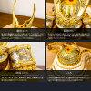 五月人形オシャレインテリア鎧兜「EVOLVE希翔オシャレ貫前兜飾り選べる4種類」平飾り横幅21cm×奥行18cm×高さ17cm2018年初節句子供の日