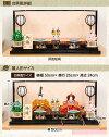 雛人形ひな人形雛「小出松寿作絢雅(あやか)」●平飾り親王飾り