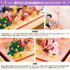 雛人形ひな人形雛ケース飾り「紗良(さら)」●ケース入りコンパクト