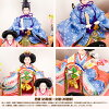 雛人形ケース飾り紗羽(さわ)三人官女五人飾りひな人形小さい2019年初節句