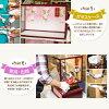 雛人形かわいいお雛様FLEURケース飾り桜色シリーズ選べる2種類のケース雛桜色・二藍2019年初節句
