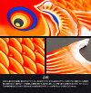 Prefer特撰こいのぼり「成長を彩るかがやく光彩光-SIRIUS-1.5m3色ガーデンスタンド」ポリエステル生地の鯉のぼり撥水吹流しに名前or家紋入れ可能!sirius-15-6gs