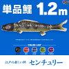 鯉のぼりこいのぼり「錦鯉(ワタナベ鯉)センチュリー鯉1.2m単品鯉(赤、青、緑、紫)」●単品鯉のぼり