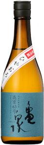 亀泉 純米吟醸ひやおろし 高育63号720ml