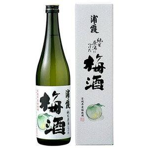 浦霞 純米原酒につけた梅酒720ml