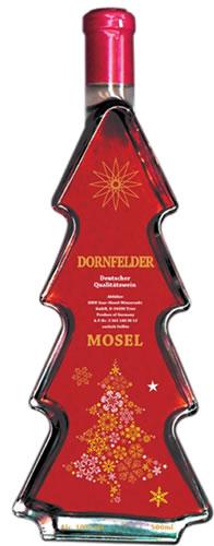 ドイツワイン クリスマスボトル ドルンフェルダー赤