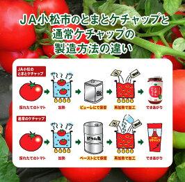 JA小松市のとまとケチャップ石川県小松市産完熟とまと100%使用