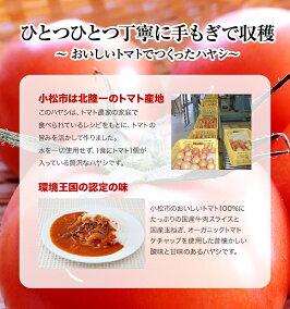 トマト&ビーフハヤシの盛付け例