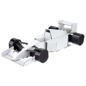 ハコモ フォーミュラカー 白 ダンボール おもちゃ 知育玩具 模型 インテリアホビー 趣味 コレクション ダンボールアート