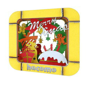 ハコモ クリスマスパーティー ダンボール おもちゃ 模型 インテリアホビー 趣味 コレクション
