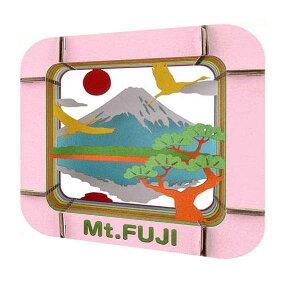 ハコモ 富士山 ダンボール おもちゃ 模型 インテリアホビー 趣味 コレクション
