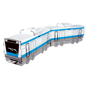 ハコモ 京浜東北線E233系1000番台 ダンボール おもちゃ 知育玩具 模型 インテリアホビー 趣味 コレクション