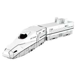 ハコモ N700系さくら ダンボール おもちゃ 知育玩具 模型 インテリアホビー 趣味 コレクション