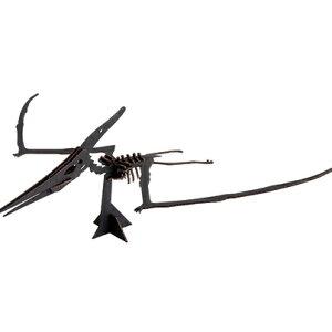 ハコモ BLACK LABEL プテラノドン (ブラック)ダンボール おもちゃ 知育玩具 模型 インテリアホビー 趣味 コレクション
