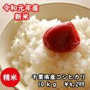 【令和元年産】千葉県産菜の花こしひかりつきたて白米10kg(5kg×2)※送料無料※※送料無料地域に除外があります※北…