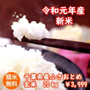 【令和元年産】千葉県産 ふさおとめ玄米10kg(5kg×2)送料無料♪精米無料♪※送料無料地域に除外があります※北海道・九州:+400円