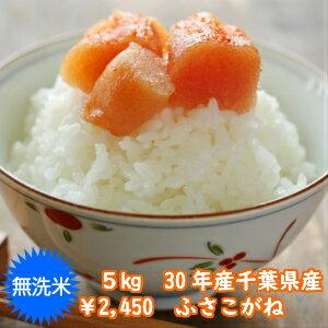 【30年産】無洗米 ふさこがね 5kgおいしい♪手間なし♪簡単♪※送料無料地域に除外があります※北海道・九州+400円