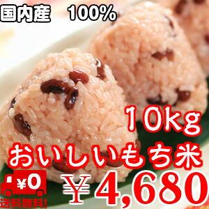 おいしいもち米 10kg【国内産】送料無料※送料無料地域に除外があります※北海道・九州+400円