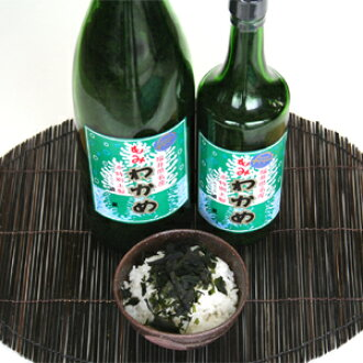 浴霸 FIR 海藻 (粉裙带菜海藻) 1 清酒瓶子插入