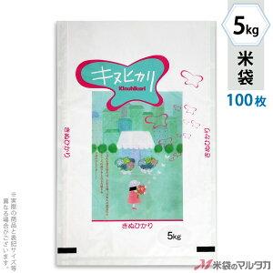 米袋 ラミ フレブレス キヌヒカリ 花と少女 5kg 100枚セット MN-4890