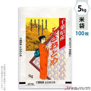 米袋 ラミ フレブレス 千葉産ふさおとめ のぞみ 5kg 100枚セット MN-5200