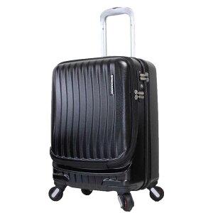 フリークエンター キャリーケース 機内持込サイズ スーツケース キャビンサイズ ストッパー 静音キャスター TSAロック フロントオープン 交換可能なキャスター エンド−鞄