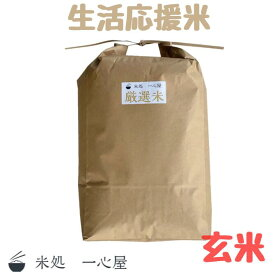 令和2年産 東北産 厳選米 玄米 10kg お米 生活応援米 良食味 多収穫品種