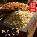 【令和2年産 新米入荷】佐賀県白石町産 夢しずく玄米30kg【送料無料】【精米無料】【小分け無料】 (玄米)極上米 …