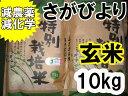 【玄米】【28年産 新米】【1等米】【さがびより】【5割以上減農薬・減化学肥料】【特別栽培米】 九州 佐賀県 5kg×2【10P26Mar16】