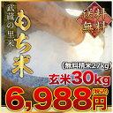 武蔵の里米 もち米 玄米30kg(精米無料)(農家直米)(送料無料 但し北海道 九州 四国 沖縄を除く)