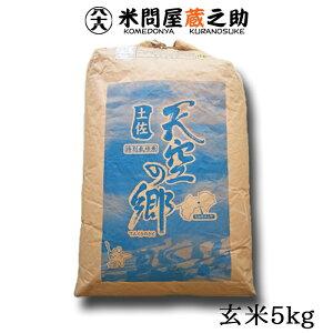土佐 天空の郷 ヒノヒカリ 玄米 5kg 令和2年産 送料無料 (一部地域除く)