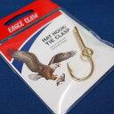 【メール便可】EAGLE CLAW(イーグルクロー) ハットピン ゴールド