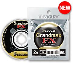【メール便可】クレハ Seaguar Grand max FX (シーガー・グランドマックスFX)1.2号〜3号