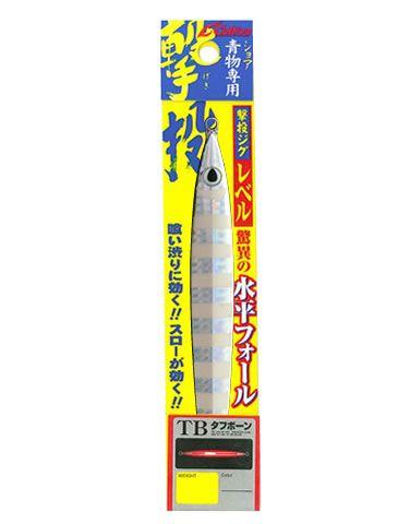 【メール便可】カルティバ 撃投ジグ レベル 100g