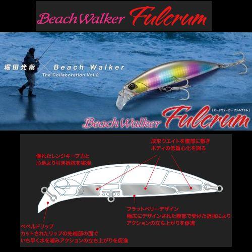 【メール便可】DUO【堀田光哉×Beach Walker】ビーチウォーカー ファルクラム95