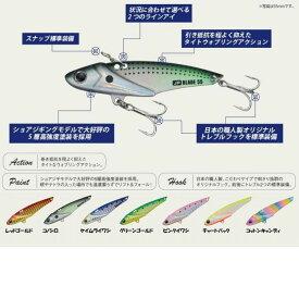 【メール便可】メジャークラフト ジグパラ ブレード 75mm/18g