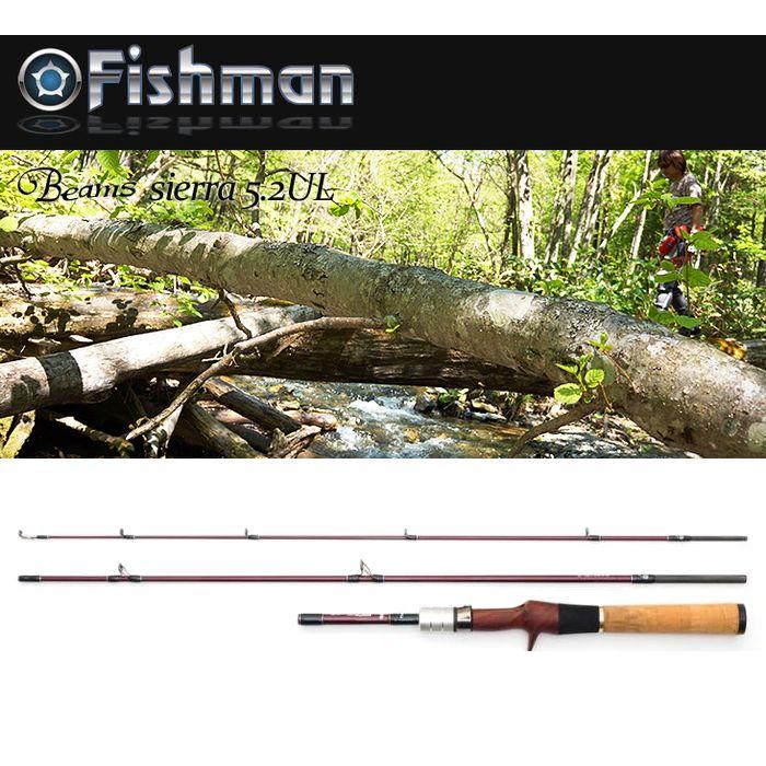 【全商品ポイント10倍!9/21 20:00〜9/26 1:59迄】Fishman Beams sierra(ビームス シエラ) 5.2UL