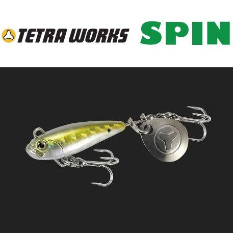 【全商品ポイント10倍!4/14 20:00〜4/20 23:59迄】【メール便可】DUO TetraWorks SPIN (テトラワークス スピン)