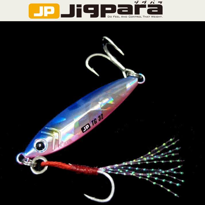 【メール便可】メジャークラフト【タングステンモデル】ジグパラTG 32g