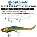 【メール便可】コアマン  VJ-22 バイブレーションジグヘッド
