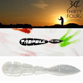 【メール便可】34(サーティフォー)  Tadpole(タープル) 1.6インチ
