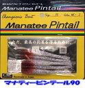 【メール便可】ワインド専用スティックベイト オンスタックルデザイン マナティーピンテール 90