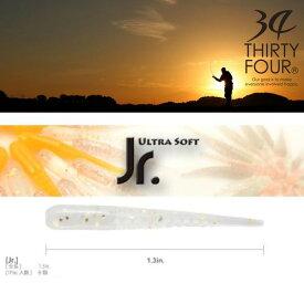 【メール便可】34(サーティフォー)  Jr.(ジュニア) 1.3インチ